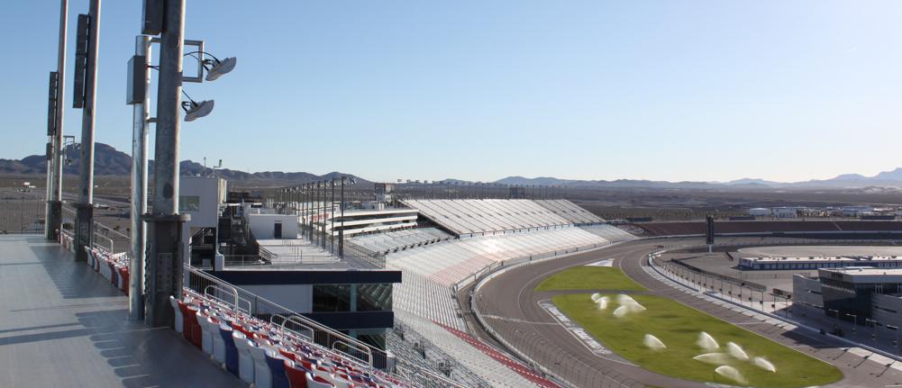 Las Vegas Motor Speedway DAS Installation