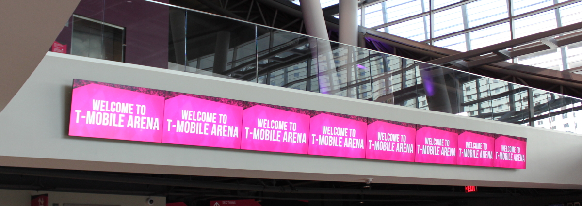 T-Mobile Arena Low Voltage Installation